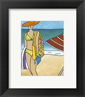 Framed Beach Blanket Baby I