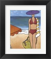 Framed Beach Blanket Baby II