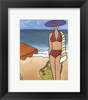 Framed Beach Blanket Baby II