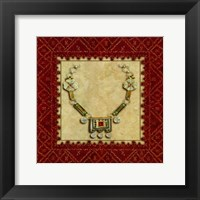 Framed Marrakesh Jewels
