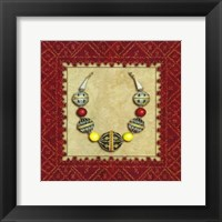 Framed Oudayas Jewels