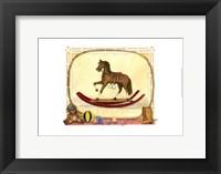 Framed Rocking Horse (D) I