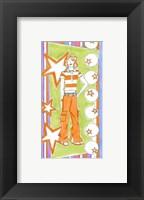 Glam Girls IV Framed Print