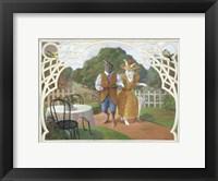 Framed Rabbit's Picnic