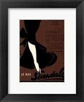 Framed Le Scandale