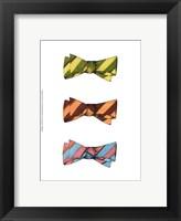 Tri Bow IV Framed Print