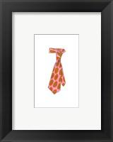 Uptown Tie I Framed Print