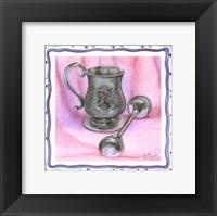 Framed Heirloom Cup & Rattle II