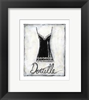 Framed French Lace