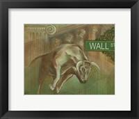 Framed Bull Market