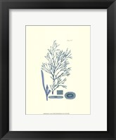 Shades of Aqua I Framed Print