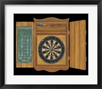Framed Bull's Eye I