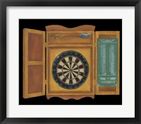Bull's Eye II Framed Print