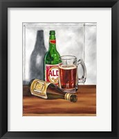 A Cold One I Framed Print