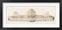 Les Grand Prix de Rome I Framed Print