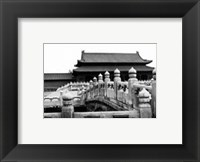 Framed Palace Bridge, Beijing