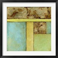 Stained Glass Window IV Framed Print