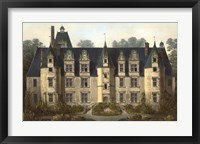 Framed French Chateaux III