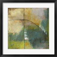 Four Corners IV Framed Print