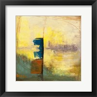 Aquamarine Aura III Framed Print