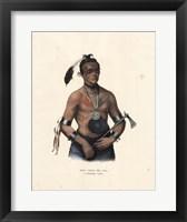 Framed Winnebago Chief