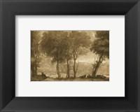 Framed Pastoral Landscape I