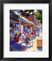 Framed Colorful Cafe