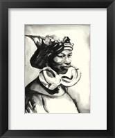 Framed Morowa- Queen