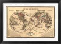 Framed Johnsons Globular World