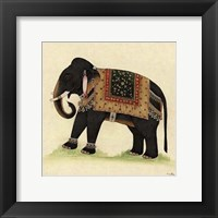 Framed Elephant from India II