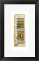 Framed Bird Pair from India II