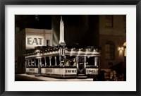 Empire Diner, 1976 Framed Print