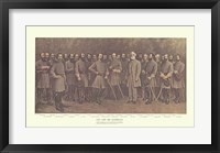 Framed Robert E. Lee and his Generals