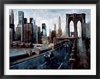 Manhattan Without You Framed Print