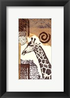 Safari III Framed Print