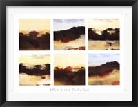 Framed Hills to Horizon