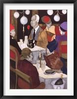 Dinner at Lhardy's Framed Print