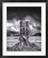 Stumped Framed Print