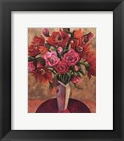 Framed Fire Flowers