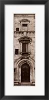 Framed La Porta Via, Montepulciano