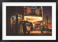 Framed Midnight Matinee