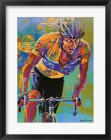 Framed Lance Armstrong - 7X Tour de France Champion