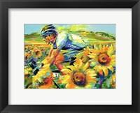 Framed Odyssey in Yellow