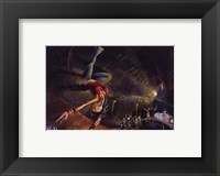 B-Girl Framed Print