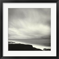 Framed Shoreline, Mendocino Coast, CA (24 x 24)