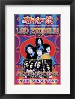 Framed Led Zeppelin, Alice Cooper