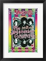 Framed Jimi Hendrix, 1967