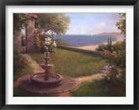 Framed Seaside Garden [horizontal]