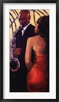 Framed Sax Seduction