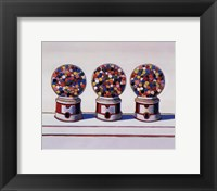 Framed Three Machines, 1963